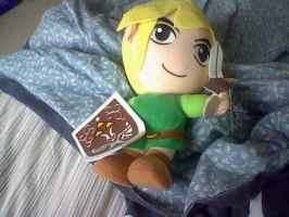 Toon Link Plush by Browntown747