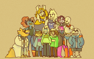 Undertale by girluver90