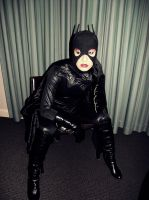 Batgirl Beyond Cosplay - Contemplating by ozbattlechick