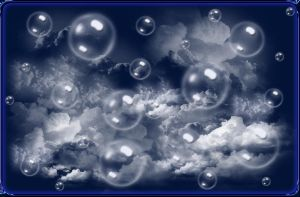 Bubbles in the Clouds 2 JPeg by WDWParksGal-Stock