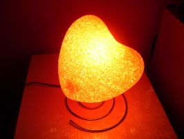 Heart Lamp II STOCK by Neveryph-stock