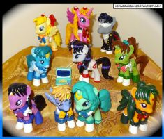 All dem Sailormoon ponies by HeyLookASign