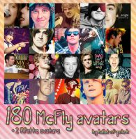 180 McFly avatars by ballad-of-pola-k