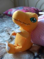 Cute Agumon by WalnutSprout