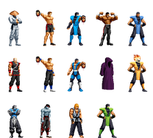 Mortal Kombat Collection by Street-Spriter