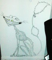 Kitty +via the Drawing Wall+ by Spinmenson