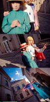 Howl's Moving Castle_let the magic fly by hybridre