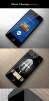iPhone 5 Mockup by imonedesign
