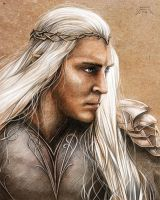 Thranduil by Antrague