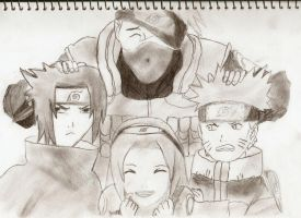 Team 7 Naruto by DragonJSP