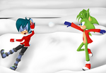 SS: Snowball Fight! by Lolly-pop-girl732