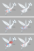 Togetic Variations by CoryKatze