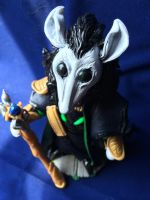 Loki of Mausgard (above view) by Quiscula