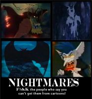 Cartoon Nightmares by DarkAngelofOtaku