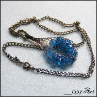 Captured Necklace by 1337-Art
