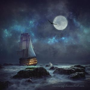 Moonlight Dream 2 by annewipf