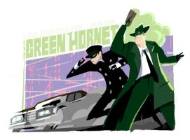 Green Hornet by joeymasonart