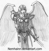 Sister of battle : Seraphim by Nemhainn