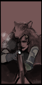 Sniper Wolf by ledomo