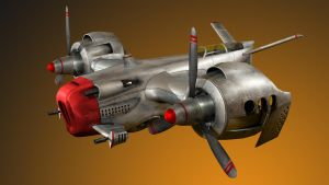 Scott Robertson's Aircraft Concept by Milnaes