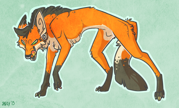 Hungry like the [Maned] Wolf. by SLlTHER