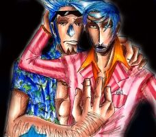 Franky and Iceburg by Ai-Lupin