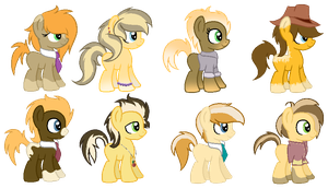 CMSF - Braeburn x Doctor Whooves [1 LEFT OPEN] by Pikadopts
