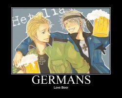 Motivational Poster: Germans by Dreams2much