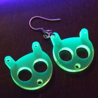 Amiko - Laser cut UV earrings by milkool