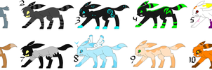 RQ: Umbreon Adopts- CLOSED by sam-speed
