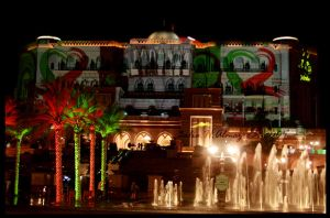 Emarites Palace celbratin 38ND by 3LooYaH