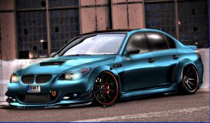 yusufbatirel bmw e60 by yusufbatirel