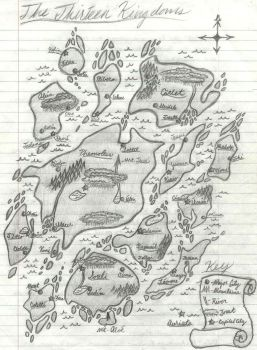 The Thirteen Kingdoms by awildchelseaappeared