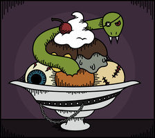 iScream Revisited. by cerebralsewer