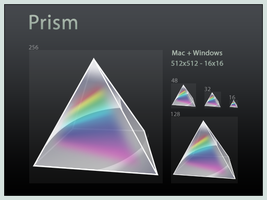 Prism Icon by DoNotThrowAway