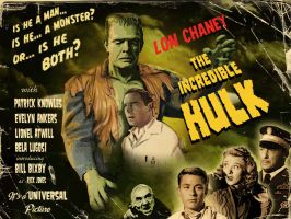 Lon Chaney Jr as THE HULK! by Simon-Williams-Art