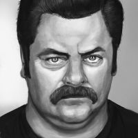 Ron Swanson by Zoltan86