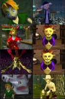 Memorable Ocarina of Time Faces by Rinni-Boo