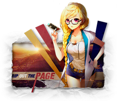 Rip Out The Page by Crazed-Artist