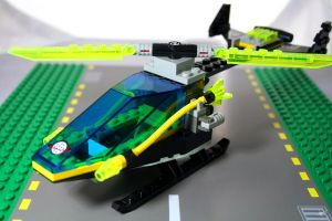 Alpha Team Helicopter by Blue-St