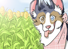 x Car ride and cornfield x by Nekoshiba