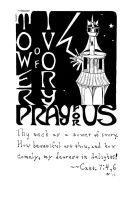 Illustrated Litany of Loreto 36: Tower of Ivory by darklordpfeifer