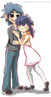 2D and Noodle Phase 3 by StePandy