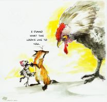 biggest mother hen by koosh-llama
