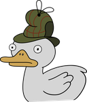 gravity_falls___duck_tective_by_timeimpa