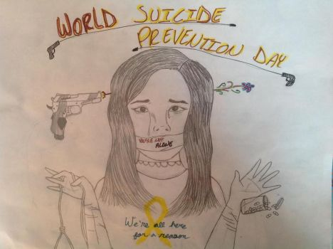 World Suicide Prevention Day by Mistywishs