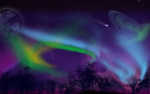 Auroral Planets by Pure-Potential