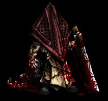 SD Pyramid Head by DeTinteyLengua