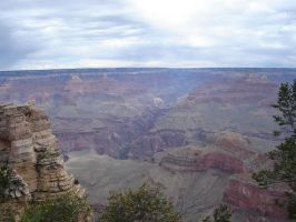 Grand Canyon Shot 1 by Rambling-anthology