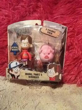 Mabel and Waddles Action Figues by Alisi-Christine